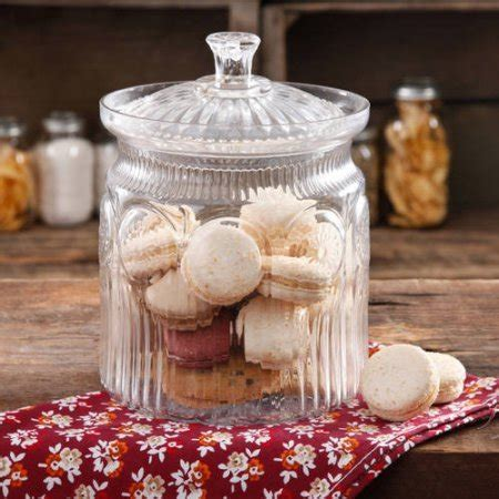 pioneer woman adeline glass cookie jar marshmallowchef