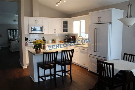 Kitchen Countertops Langley by Pearl White Cabinets Tce2024 Quartz Countertop Yelp