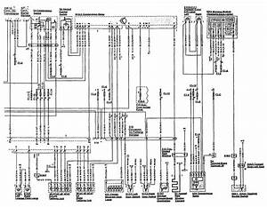 Mercedes-benz 300sl  1990 - 1992  - Wiring Diagrams - Instrument Panel Lamps