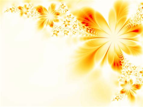 abstract yellow flower background stock photo