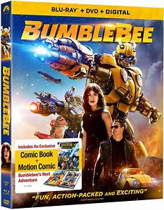 Bumblebee DVD Release Date April 2, 2019
