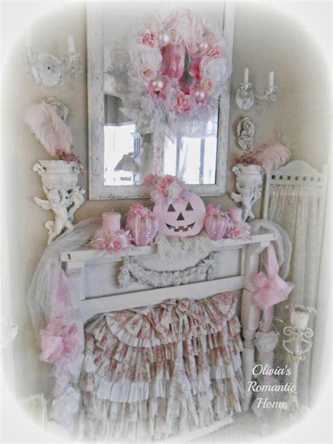 Olivia's Romantic Home Shabby Chic Pink Pumpkin Fall
