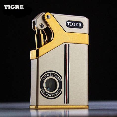 tiger lighter fashion boutique cigarette lighter cool classical gas metal tiger lighter
