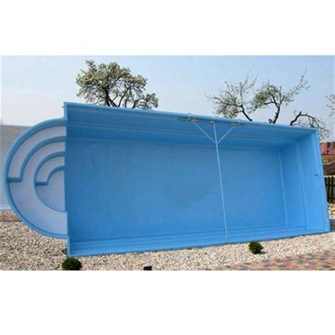 Pool 1 50 Tief by Gfk Pool Mit R 246 Mischer Treppe Aus Polyester 6 70 X 3 20 X