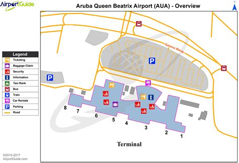oranjestad queen beatrix international aua airport