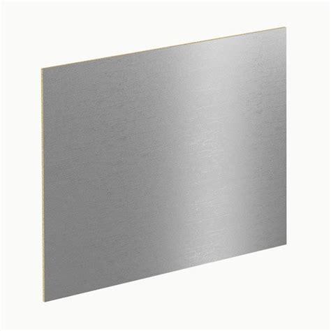plaque adhesive pour cuisine crédence de cuisine et fond de hotte inox verre au