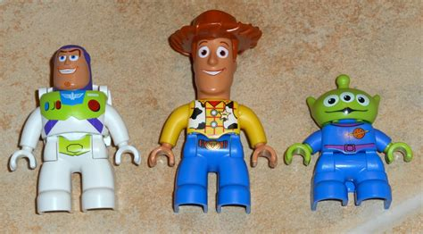 sold  lego duplo toy story figures lot woody buzz