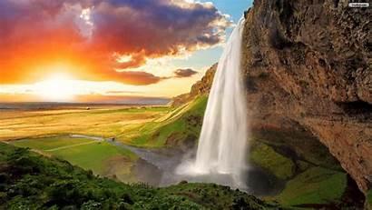 Waterfall Nature Wallpapers Pixelstalk