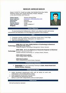 10+ good cv format in word | Invoice Template Download