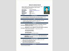 10+ good cv format in word Invoice Template Download