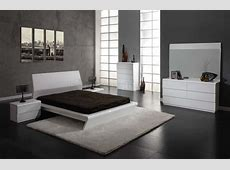 White Modern Bedroom Furniture Set Raya Furniture