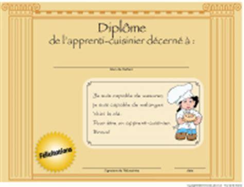 diplome en cuisine les apprentis cuisiniers activités pour enfants educatout