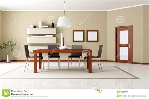 sala da pranzo moderna sala da pranzo moderna elegante immagine stock immagine