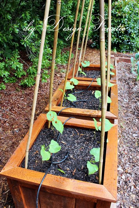 how to build planters for vegetables diy planter boxes