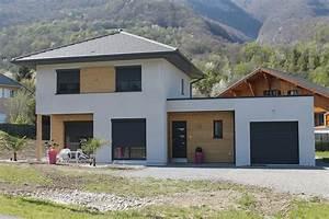 Ossature Bois Maison : maison ossature bois rt2012 en savoie la maison bois ~ Melissatoandfro.com Idées de Décoration