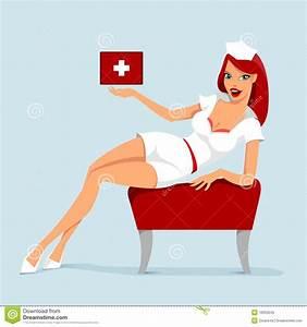 Sexy Verpleegster Royalty Vrije Stock Foto Beeld 16050245