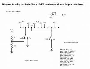 Diagram For Using The Radio Shack 12