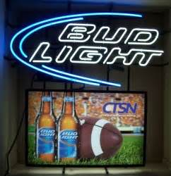 Bud Light College Football Clemson Neon Beer Bar Sign No