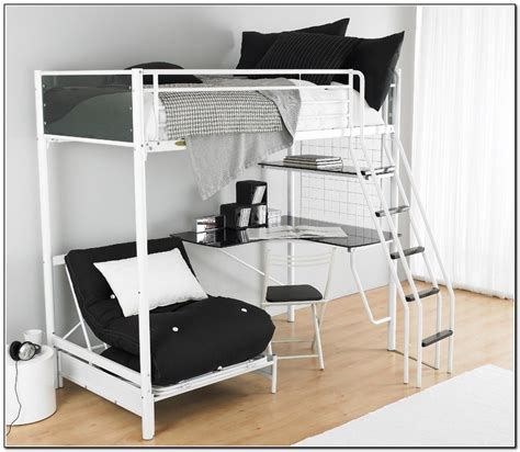 bunk beds with desk bedroom interesting bed desk combo for modern combination