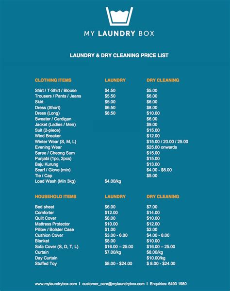 Service Prices by My Laundry Box Refreshes S Pore S Jaded Laundry Industry