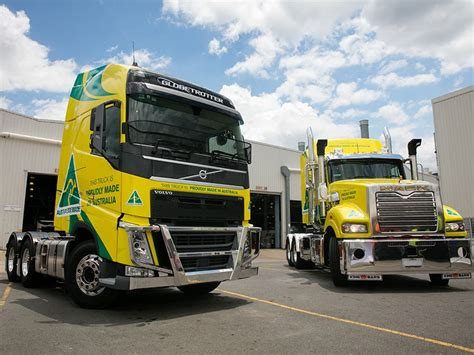volvo australia trucks truck manufacturing alive and well down under news