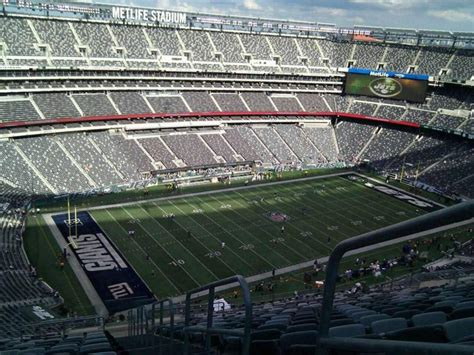 MetLife stadium, section 344, home of New York Jets, New ...