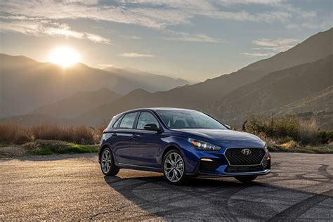 We analyze millions of used cars daily. 2019 Hyundai Elantra GT N Line: Sporty Stuff and a Stick ...