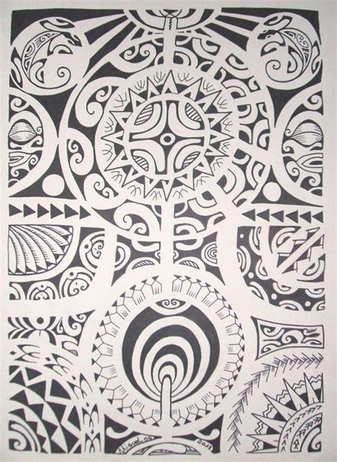 Dessin Tatouage Polynésien