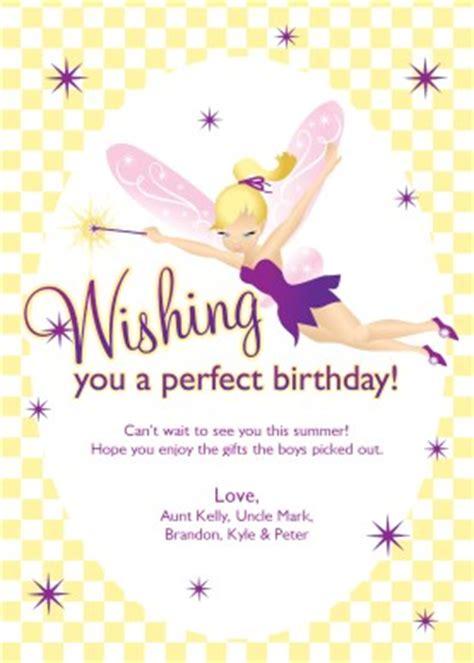 printable wishing fairy birthday card template