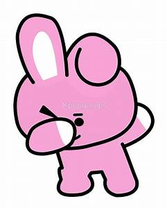 """Cooky Dabbing - BTS/BT21"" by Kpopgroups Redbubble"