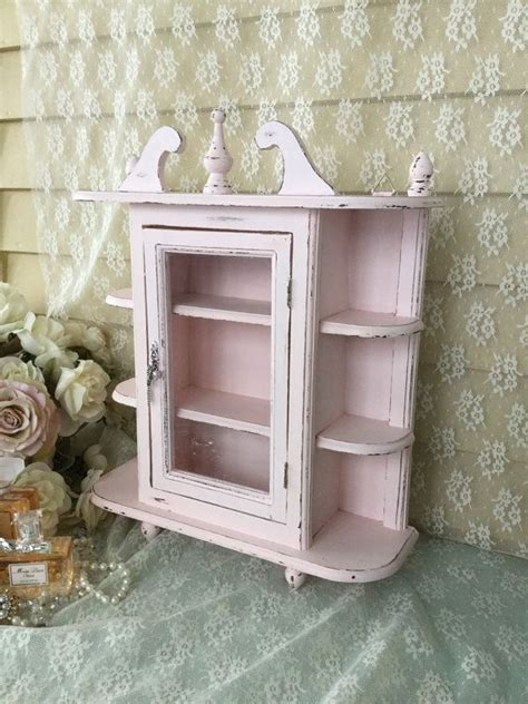 Shabby Chic Wall Cabinets For The Bathroom by 17 Best Ideas About Shabby Chic Cabinet On