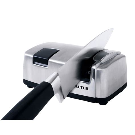 Test Kitchen Electric Knife Sharpener by Electric Knife Sharpener Salter Kitchen Ceramic Sharpener