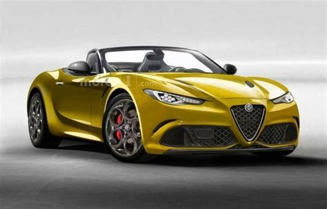 Alfa Spider 2020 by Alfa Romeo Giulia Spider 2020 Rumors