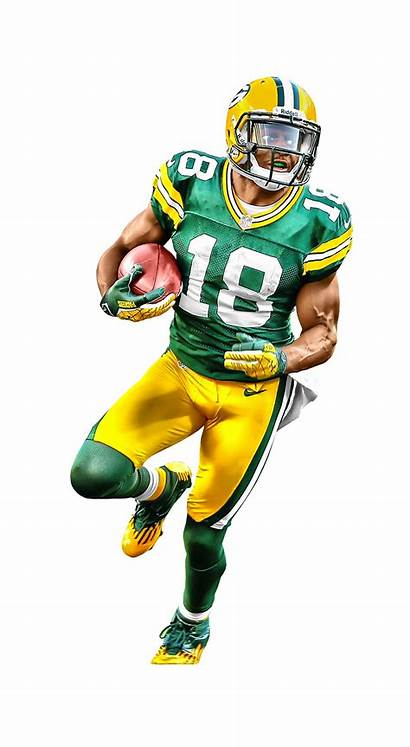Football Player American Nfl Transparent Clipart Packers
