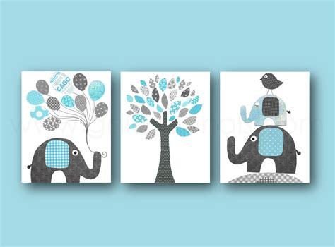chambre bébé baby lot de 3 illustrations pour chambre d 39 enfant et bebe bleu