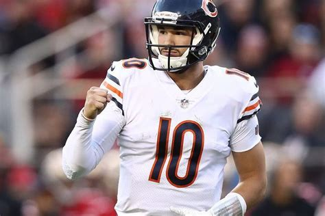bears  ers  qb mitch trubisky   meaningful performance  win chicago sun times