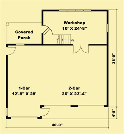 car garage plans   workshop   loft