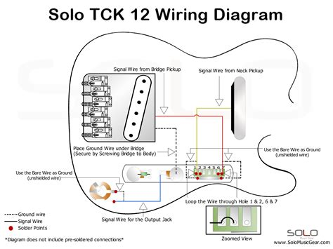 Solo String Style Wiring Guide Guitars