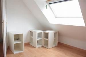 Construire Un Bureau : am nagement d 39 un bureau d 39 angle sous les combles merci pour le chocolat ~ Melissatoandfro.com Idées de Décoration