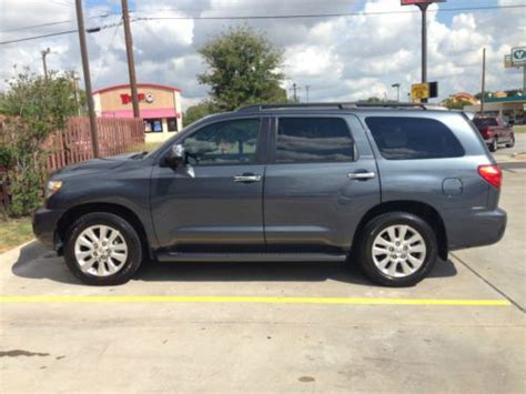 Toyota Platinum Warranty by Buy Used 2010 Toyota Sequoia Platinum Sport Utility 4 Door