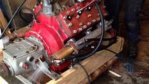 Marine Ford Flathead V8 Startup