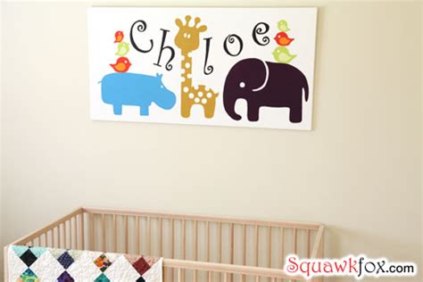 nursery wall decorate your baby s room for less