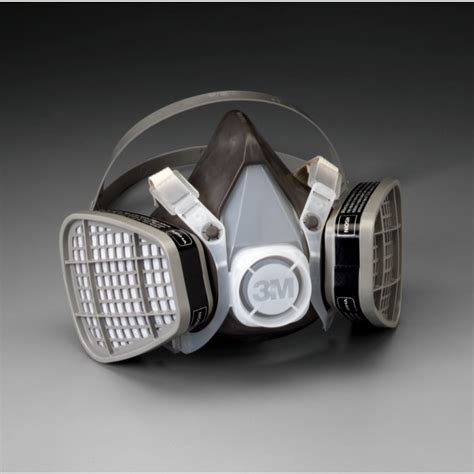 facepiece disposable respirator assembly