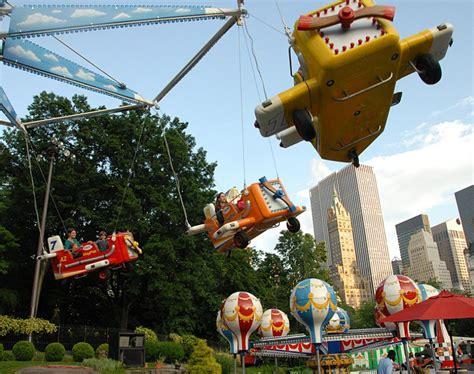 victorian gardens amusement park central park conservancy