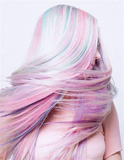 pastel hair colors magic unicorn opal hair color strayhair