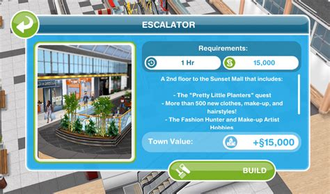 Sims Freeplay Second Floor Mall Quest by Sims Freeplay Pretty Planters Quest Glitz