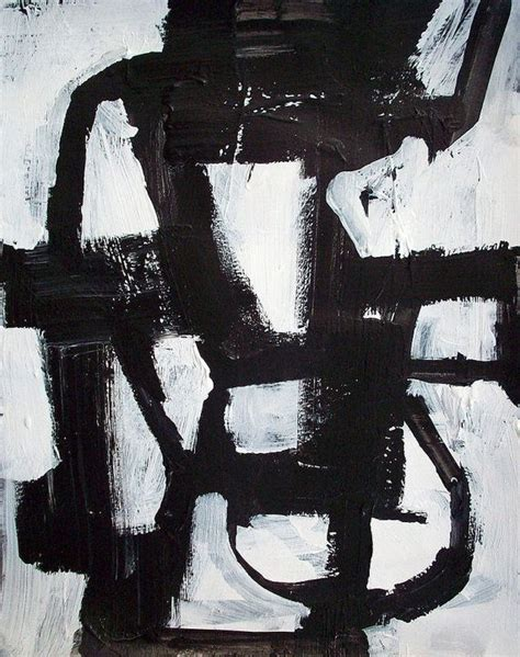 Black And White Canvas Painting Abstract by Abstract Geometric Painting Black And White Modern Large