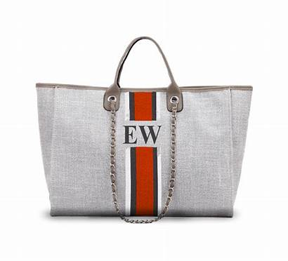 Bag Jumbo Canvas Own Grey Lily French