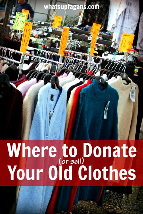 the best places to donate or sell your clothes