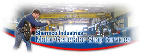Electric Motor Repair Dallas by Shermco Industries Gt Motor Generator Shop Services
